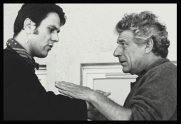 Stewart Ennis. with John Berger. on Play Me Something. Photo Jean Mohr.